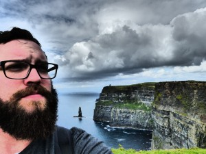 I walked as far as I could along the Cliffs of Moher, put my headphones on, listened to worship music, and listened to God speak to my soul.