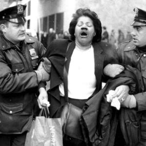 Woman pulled from the 1993 World Trade Center bombing.